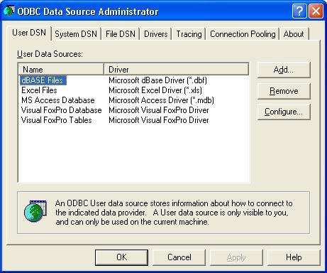 XBase ODBC Driver