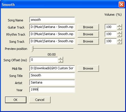 Adding Custom Songs to Guitar Hero III — mundayweb com documentation